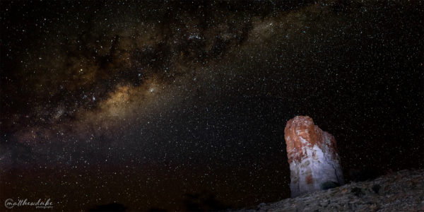 Astro Photography Chambers Pillar Landscape Photograph