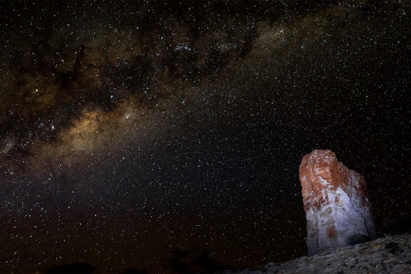 Astro Photography Chambers Pillar Landscape Photograph