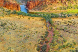 Glen helen gorge northern territory vertical landscape photograph