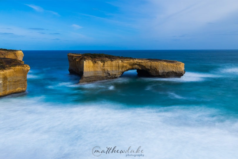 London Bridge Great Ocean Road Pano landscape photograph