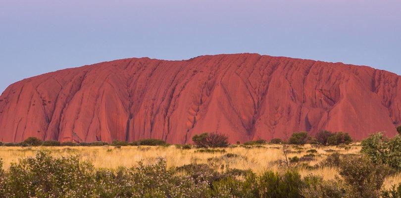 landscape photograph of Uluru in outback Australia