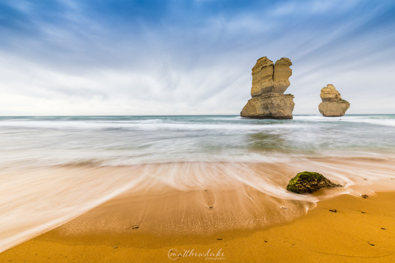 Moody Gibsons Beach Great Ocean Road Victoria landscape photograph