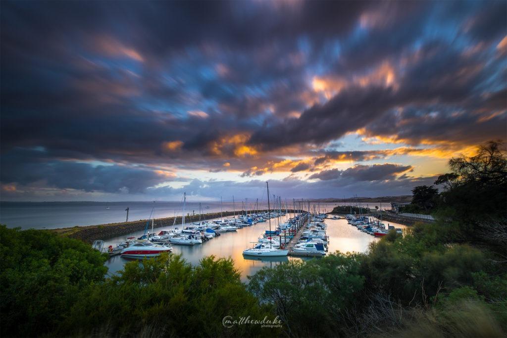 Philip Island Marina landscape photograph