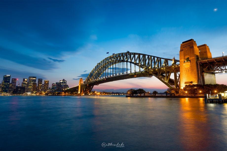 Sydney Harbour Sunset landscape photograph