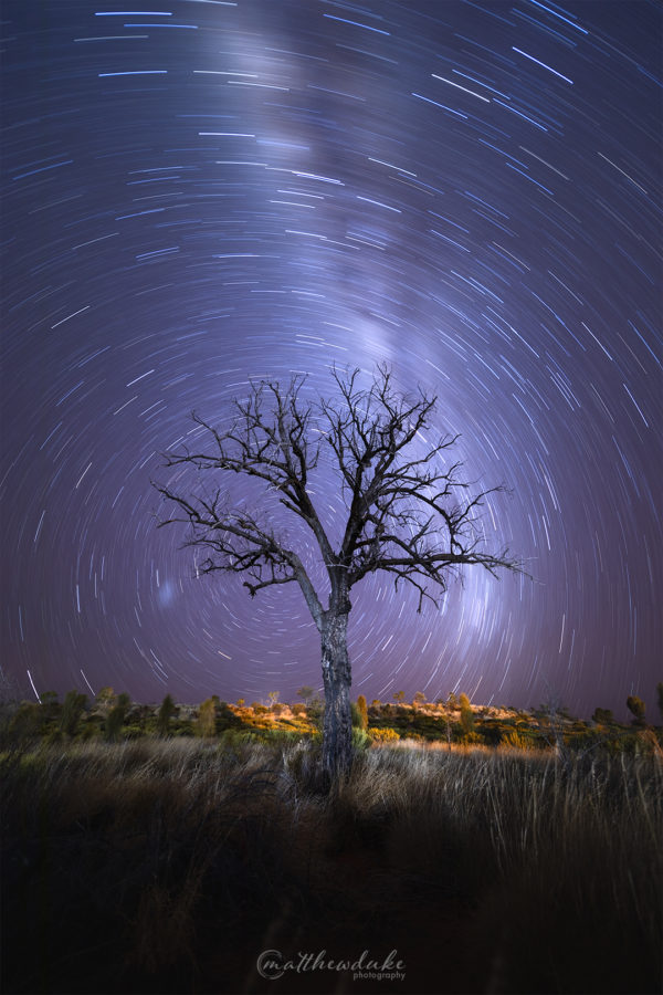Lone Tree Vortex Matthew Duke Landscape Photography Astrophotopgraphy