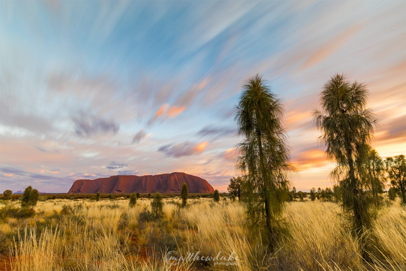 M Duke Glorious Morning Ayers Rock Sunrise