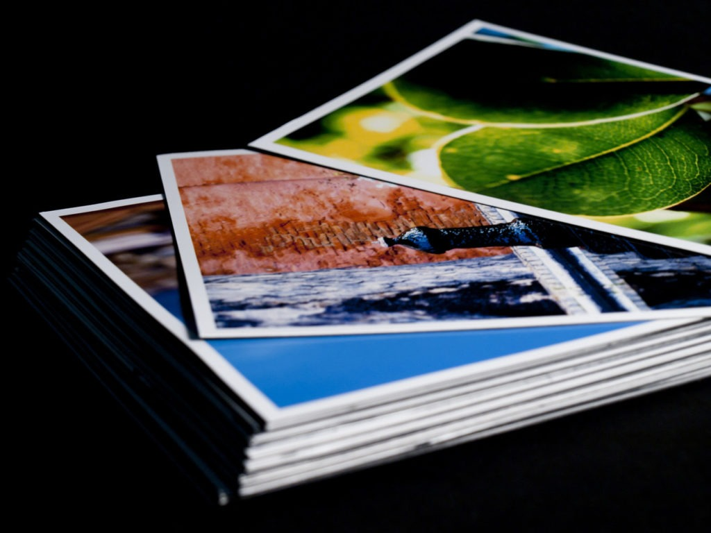 printed landscape photography