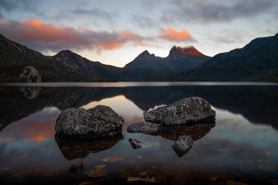 Cradle Mountain Sunset - Dove Lake - Matthew Duke - Web