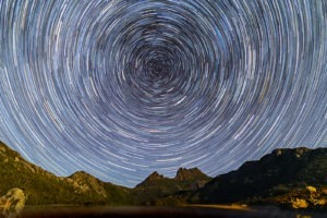 Cradle Mountain Vortex - Web - Matthew Duke - star trails - milky way