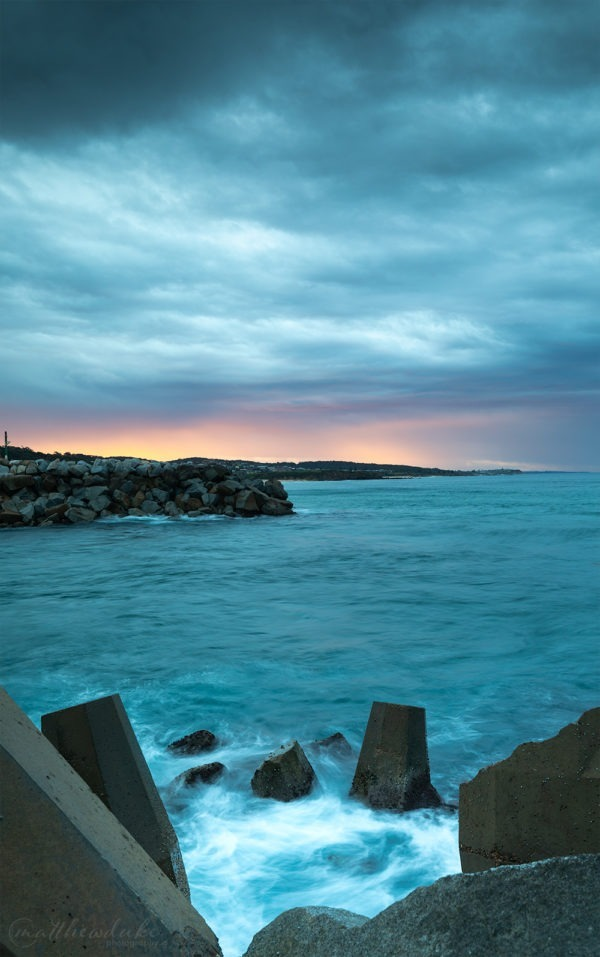 Narooma-Breakwater-Sunset-storm-ocean-coastal-matthew-duke-web