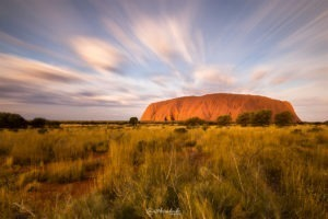 Uluru Dreaming - Long Exposure Landscape Photography Ayres Rock Matthew Duke